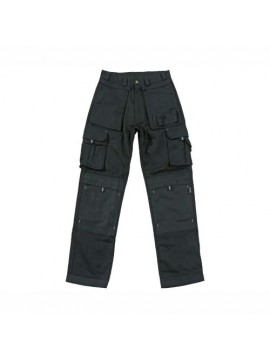 Black Color Electrician Trouser